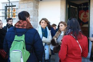 Visite des étudiantes du centre de formation l'Horizon